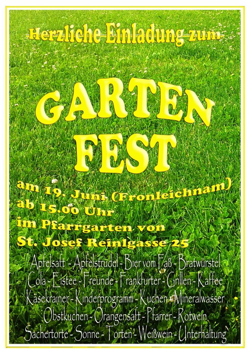 Gartenfest 2014