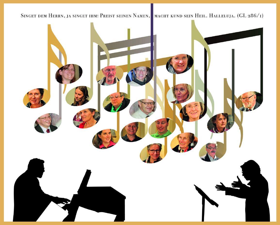 Mitglieder des Chors 2012
