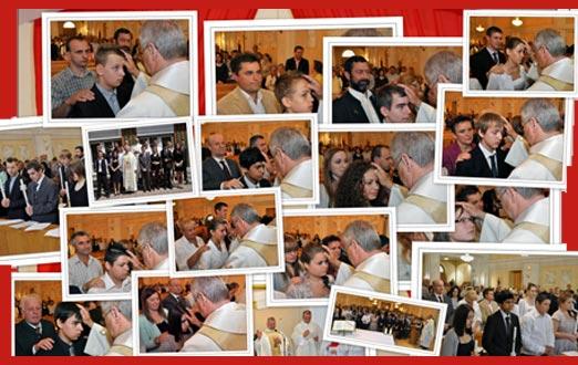 Collage der Einzelfotos